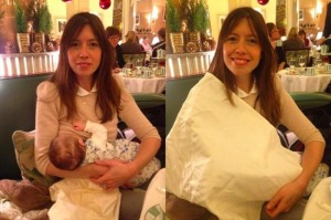 Breastfeeding in Claridges