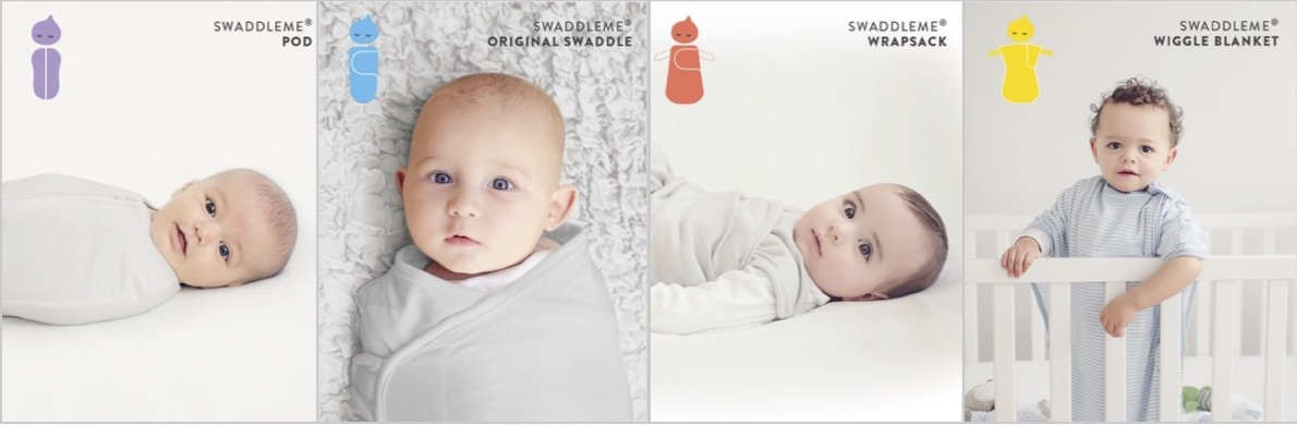 SwaddleMe stages