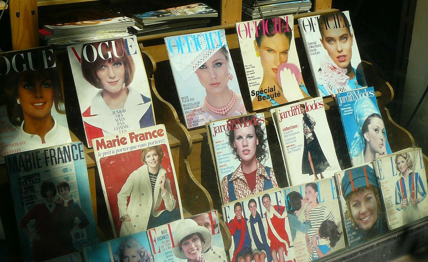 Old fashion magazines - check out our Night Feed Nine round-up