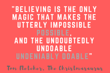 Tom Fletcher, quote about Christmas